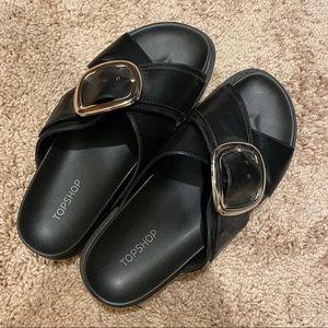Topshop slide sandals